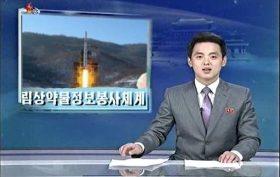 north korea man on sun