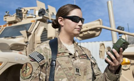 Space liaison officer trains US, coalition forces